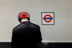 Street photo from London Tube